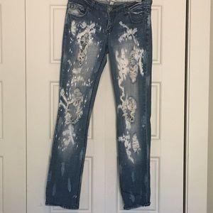Mudd super distressed  jeans size 7